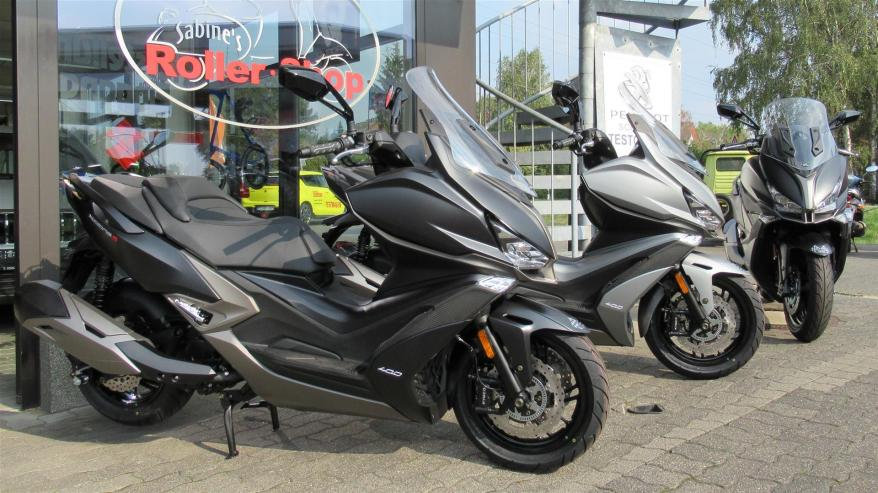 Kymco XCITING S 400i ABS jetzt bei uns im Laden!